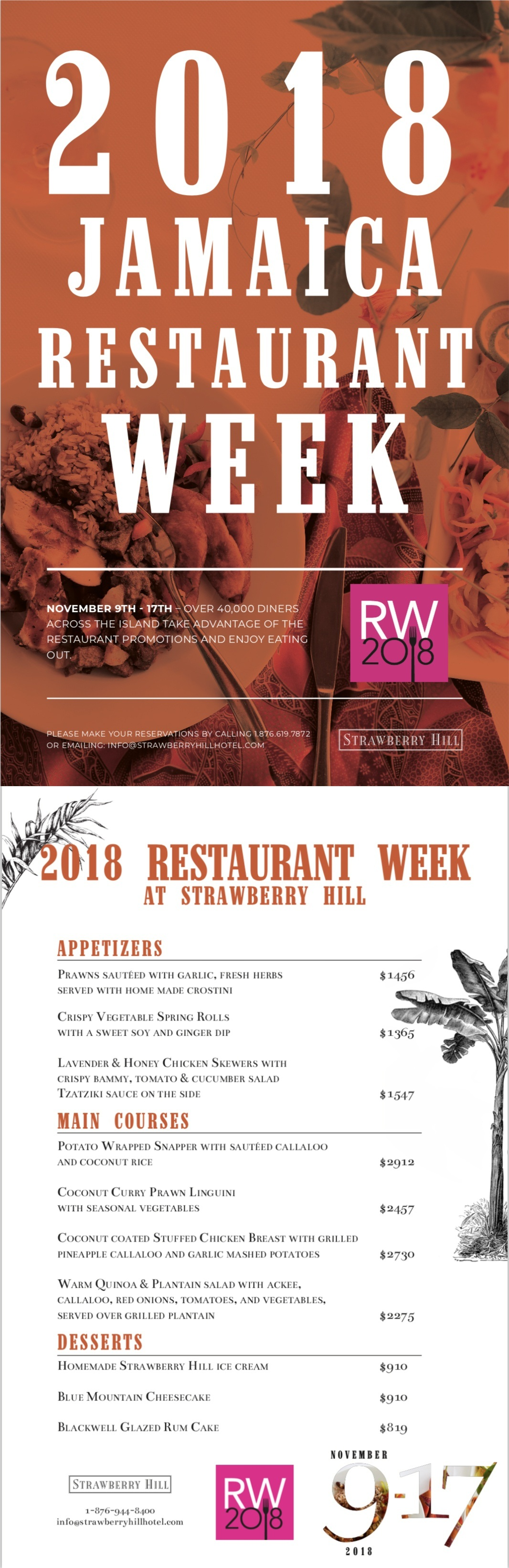 Jamaica Restaurant Week